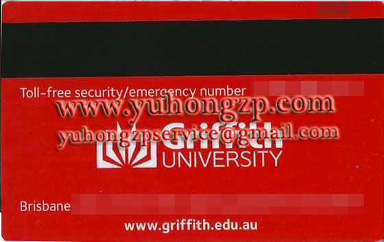 Griffith student card