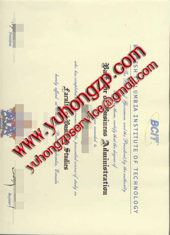 BCIT degree