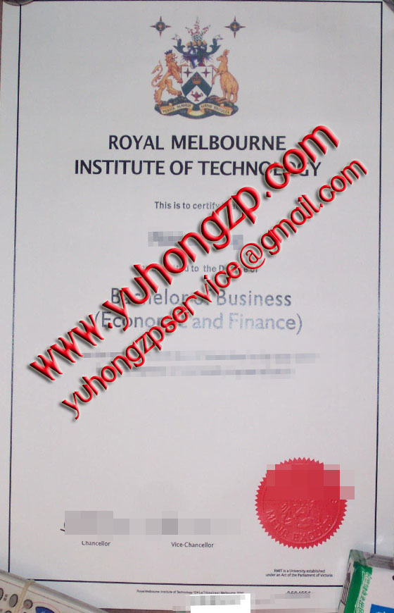 RMIT University degree