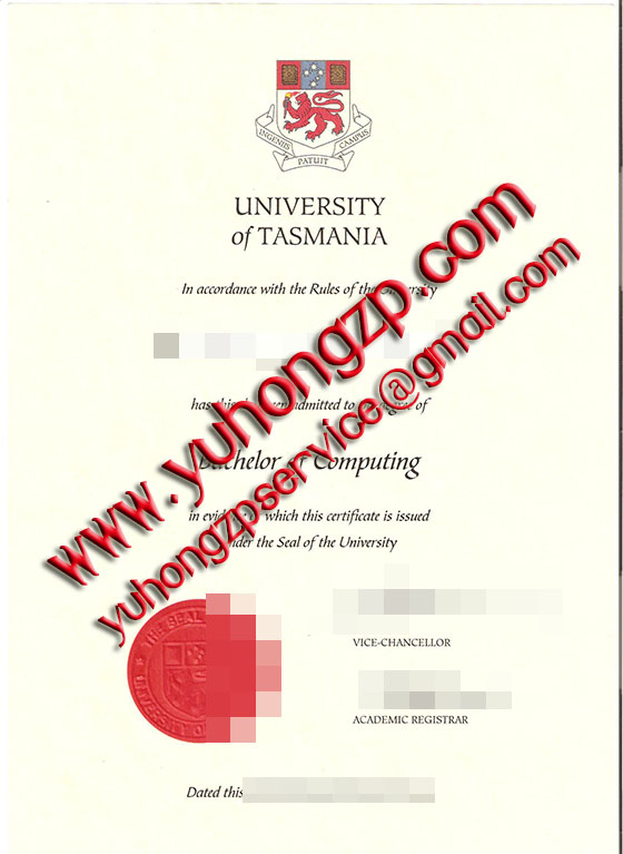 University of Tasmania degree