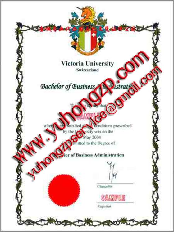 Victoria University degree