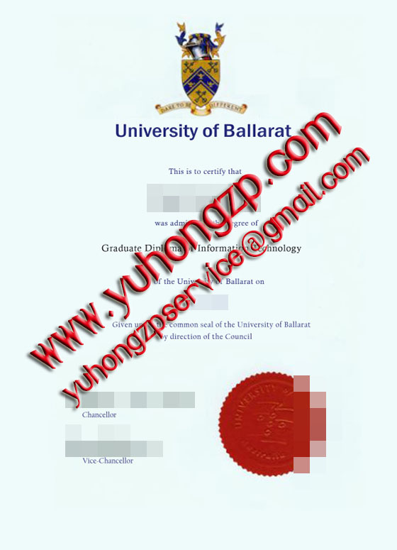 University of Ballarat degree