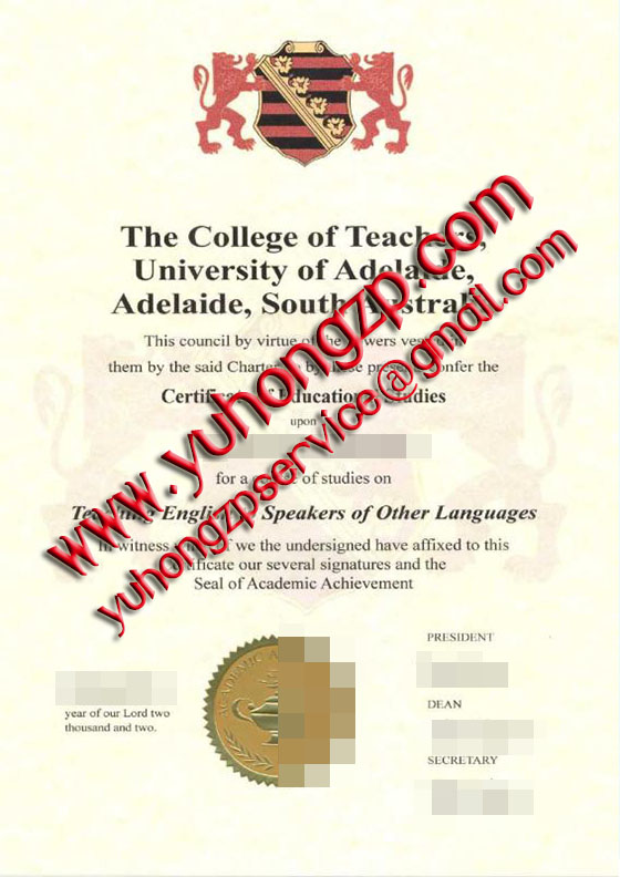 Adelaide degree