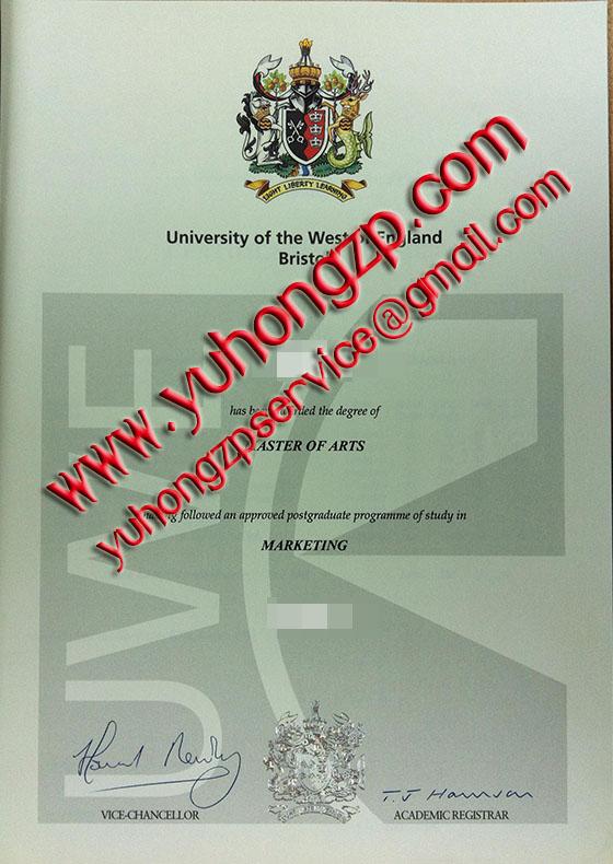 diploma of UWE