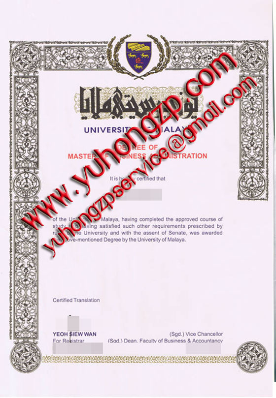 University of Malaya degree