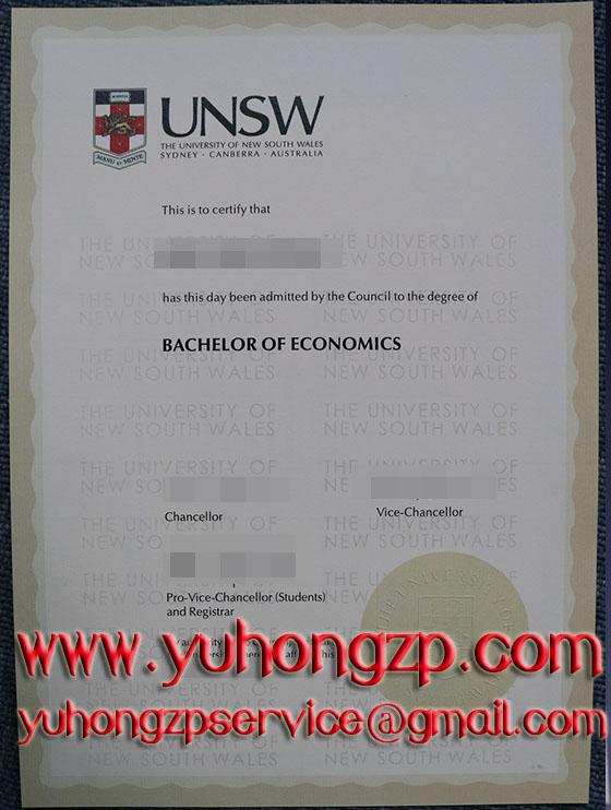 UNSW degree