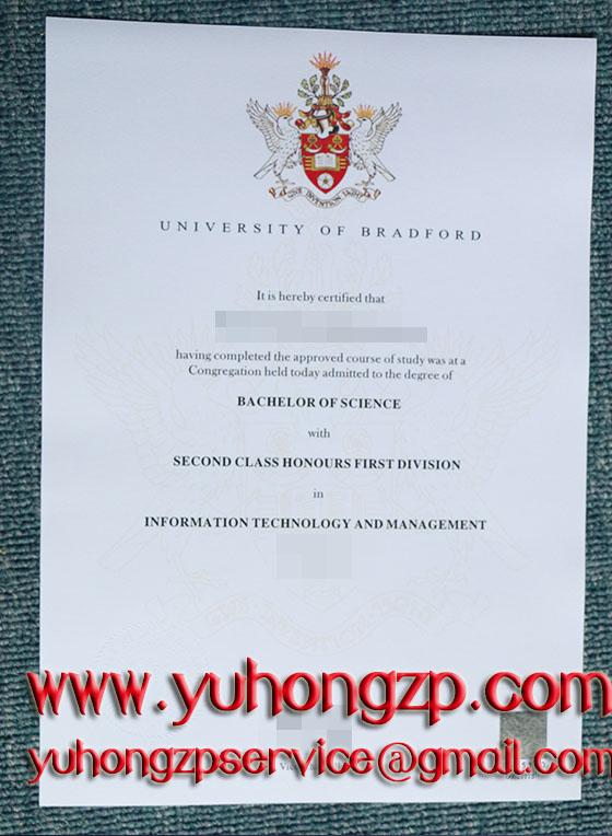 Bradford University degree