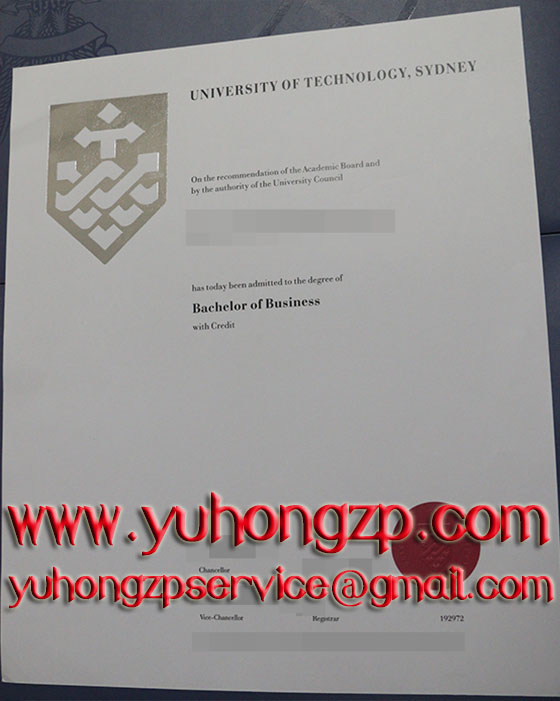 University of Technology Sydney diploma