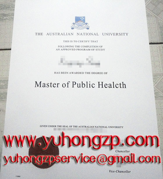 Australian National University degree
