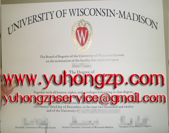 University of Wisconsin Madison degree