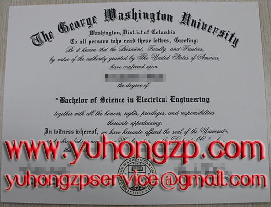 George Washington University degree