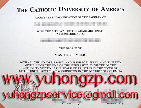 Catholic University degree
