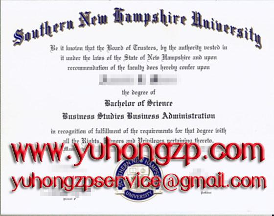 Southern New Hampshire University SNHU degree