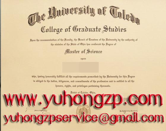 University of Toledo degree