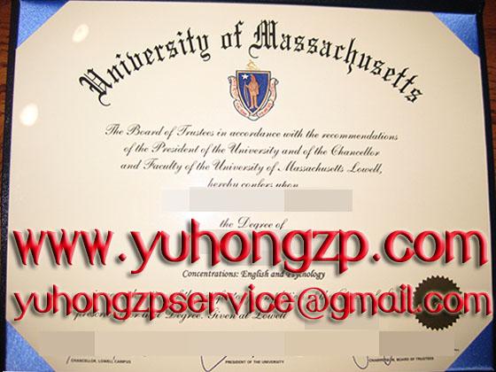University of Massachusetts degree