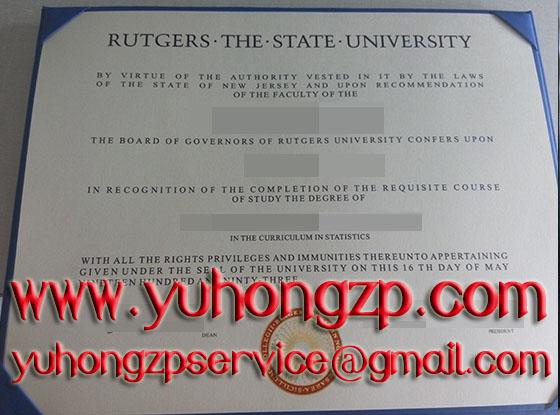 Rutgers University degree