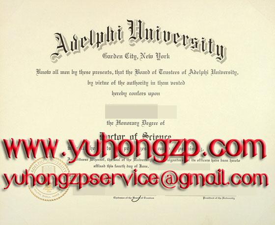 Adelphi University degree