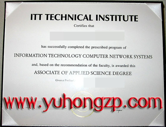 ITT Technical Institute degree