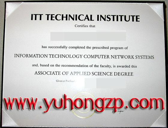 ITT Technical Institute degree