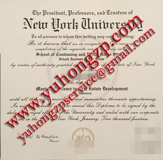 New York University degree