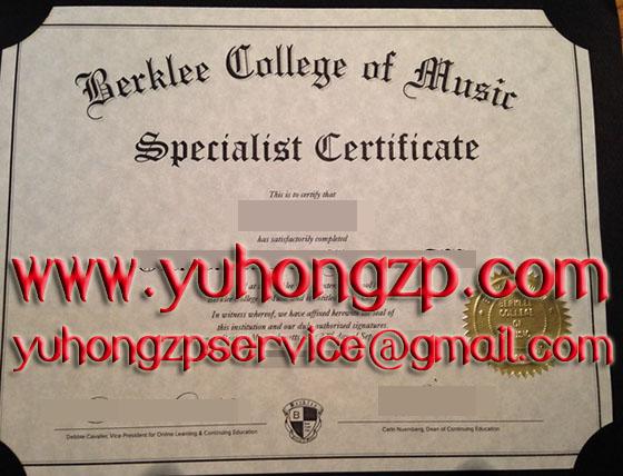 berklee college of music ' online master certificate