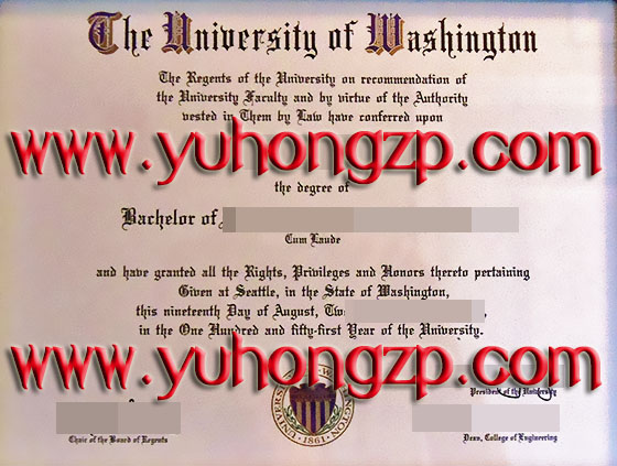 The University of Washington degree