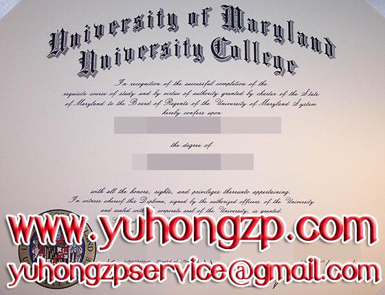 University of Maryland degree