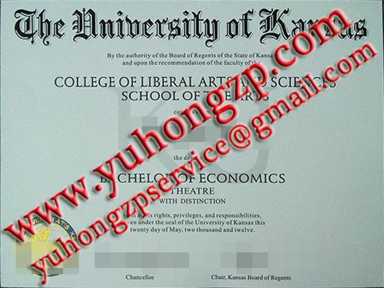 fake University of Kansas degree