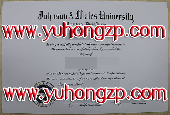 Johnson & Wales University degree