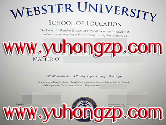 Webster University degree