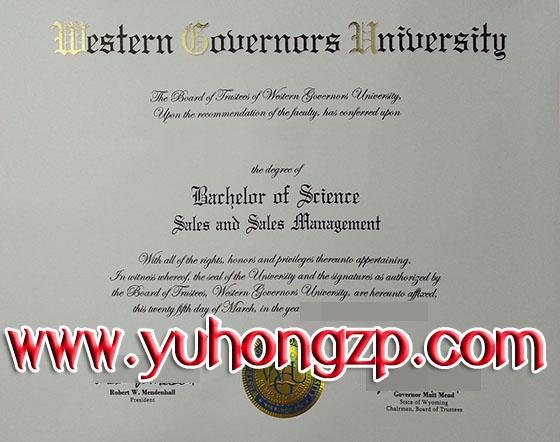 Western Governors University Degree Buy Fake Wgu Diploma
