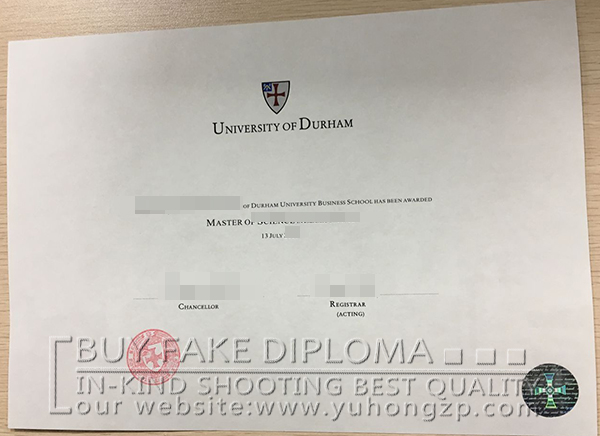 Durham University fake degree