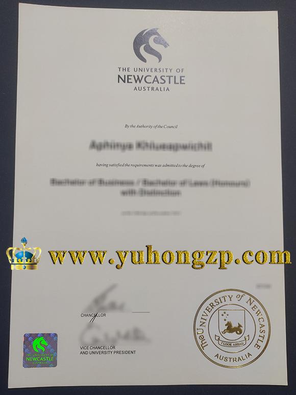 University of Newcastle (Australia) degree