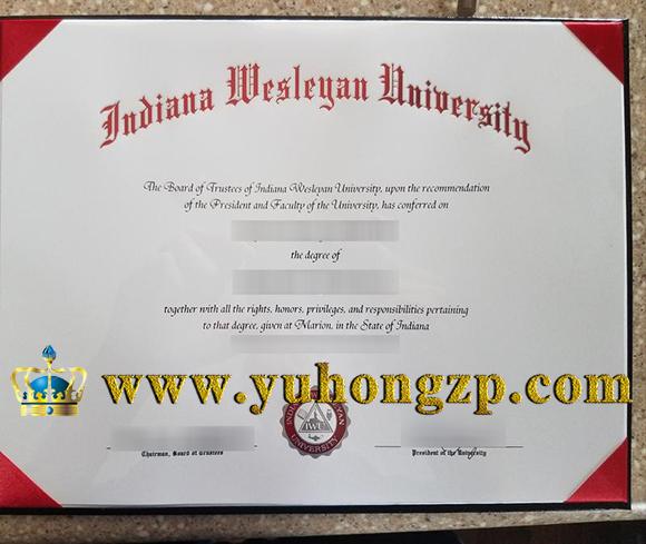 Indiana Wesleyan University degree of Bachelor of Science