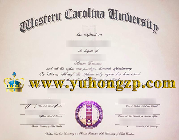 Western Carolina University (WCU) degree