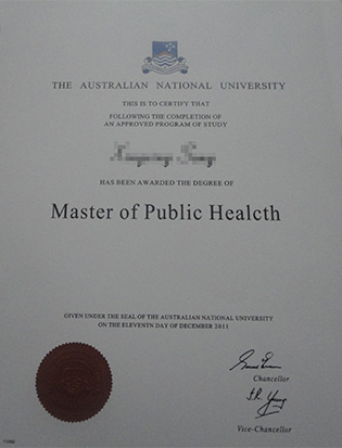 Australian National University degree and transcript, fake ANU diploma and transcript
