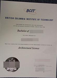 British Columbia Institute of Technology degree, buy fake BCIT diploma