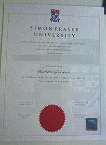 Simon Fraser University degree, buy fake diploma and transcript of SFU