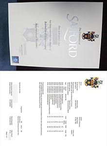 Salford University degree, buy fake diploma and transcript online