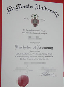 McMaster University degree, buy fake diploma and transcript in Victoria