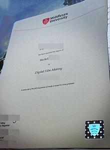 Middlesex University degree, buy fake diploma and transcript in Bradford