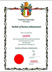 Victoria University degree in Switzerland, buy a fake diploma and transcript