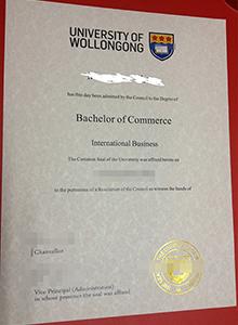 University of Wollongong degree, buy fake diploma and transcript in Bendigo