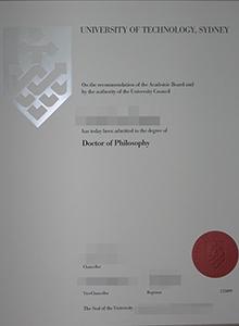 UTC degree, buy fake diploma and transcript of University of Technology Sydney