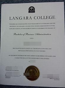 Langara College diploma and transcript, buy fake degree online
