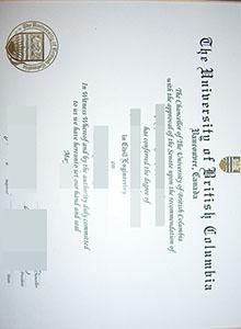 University of British Columbia degree, buy fake diploma and transcript of UBC