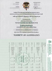 University of Alberta degree, buy fake diploma and transcript of Alberta