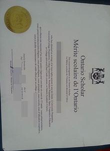 Ontario Scholars high school degree, buy fake diploma and transcript online