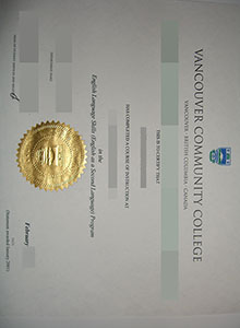Vancouver Community College diploma, buy fake diploma and transcript online