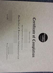 Okanagan College degree, buy fake diploma and transcript online